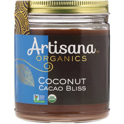 Artisana, Organics, Raw Coconut Cacao Bliss, Nut Butter, 8 oz (227 g) فوائد