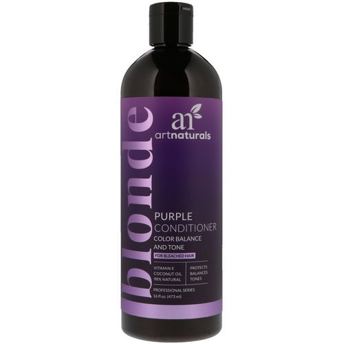 Artnaturals, Purple Conditioner, Color Balance and Tone, 16 fl oz (473 ml) فوائد