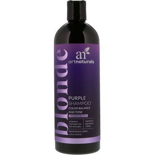 Artnaturals, Purple Shampoo, Color Balance and Tone, 16 fl oz (473 ml) فوائد