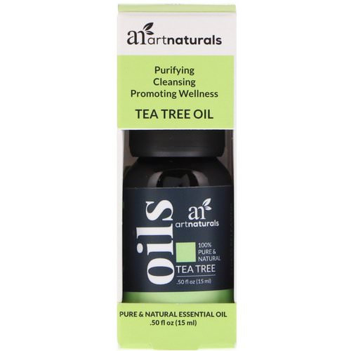 Artnaturals, Tea Tree Oil, .50 fl oz (15 ml) فوائد