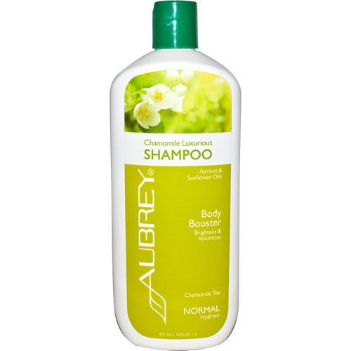 Aubrey Organics, Chamomile Luxurious Shampoo, Chamomile Tea, Normal, 16 fl oz (473 ml) فوائد
