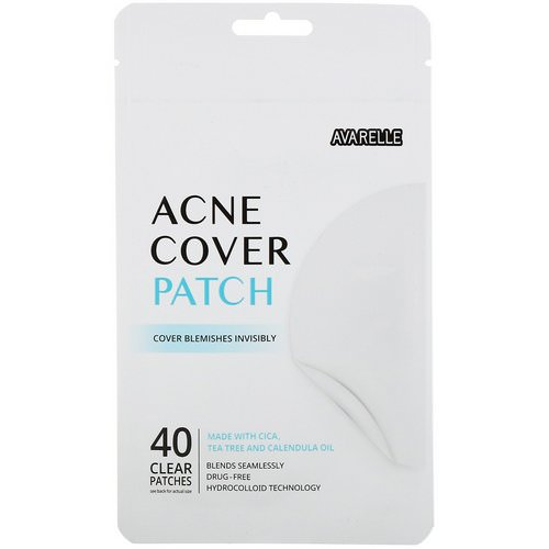 Avarelle, Acne Cover Patch, 40 Clear Patches فوائد