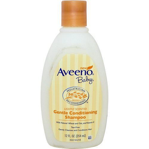 Aveeno, Baby, Gentle Conditioning Shampoo, Lightly Scented, 12 fl oz (354 ml) فوائد