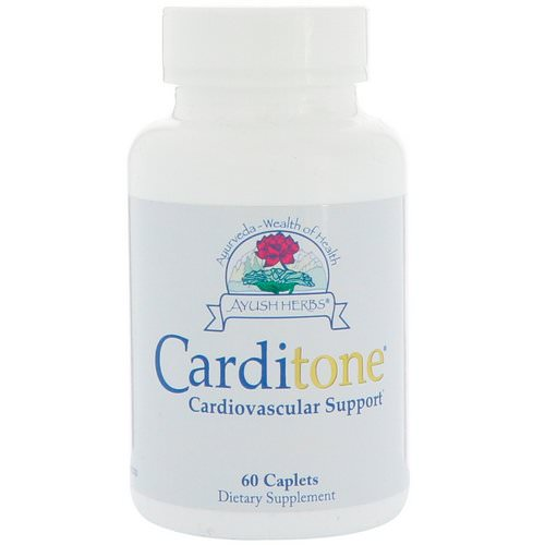 Ayush Herbs, Carditone, 60 Caplets فوائد