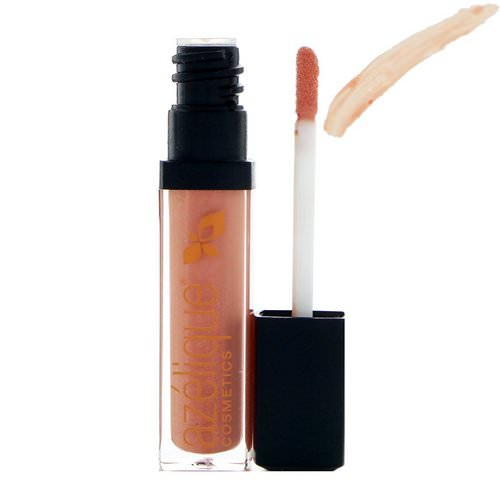 Azelique, Lip Gloss, Coral Crush, Cruelty-Free, Certified Vegan, 0.21 fl oz (6.5 ml) فوائد