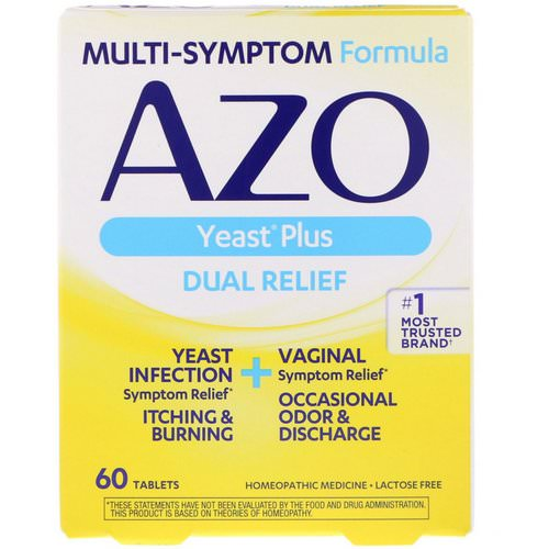 Azo, Yeast Plus, 60 Tablets فوائد