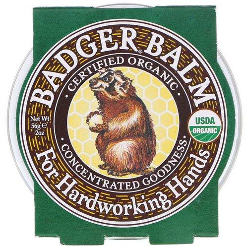 Badger Company, Badger Balm For Hardworking Hands, 2 oz (56 g) فوائد