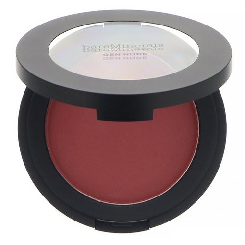Bare Minerals, Gen Nude Powder Blush, You Had Me At Merlot, 0.21 oz (6 g) فوائد