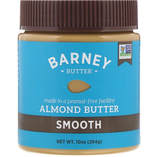 Barney Butter, Almond Butter, Smooth, 10 oz (284 g) فوائد