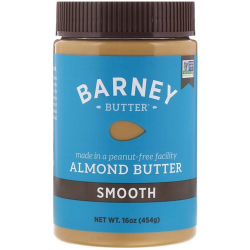 Barney Butter, Almond Butter, Smooth, 16 oz (454 g) فوائد