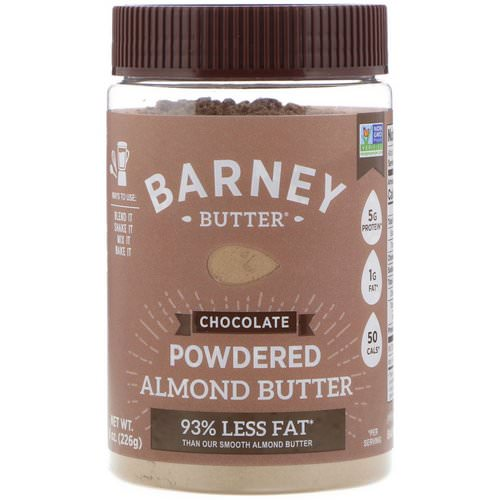 Barney Butter, Powdered Almond Butter, Chocolate, 8 oz (226 g) فوائد