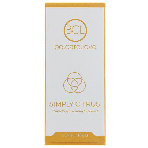 BCL, Be Care Love, 100% Pure Essential Oil Blend, Simply Citrus, 0.34 fl oz (10 ml) فوائد