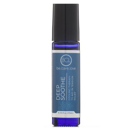BCL, Be Care Love, Essential Oil Aromatherapy Roll-On, Deep Soothe, 0.34 fl oz (10 ml) فوائد