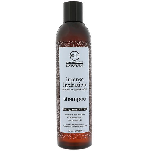BCL, Be Care Love, Naturals, Intense Hydration, Shampoo, 10 oz (295 ml) فوائد