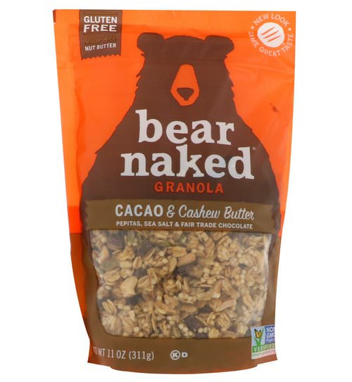 Bear Naked, Granola, Cacao & Cashew Butter, 11 oz (311 g) فوائد