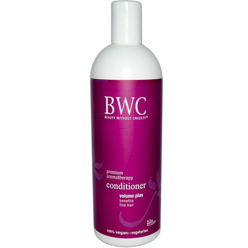 Beauty Without Cruelty, Conditioner, Volume Plus, 16 fl oz (473 ml) فوائد