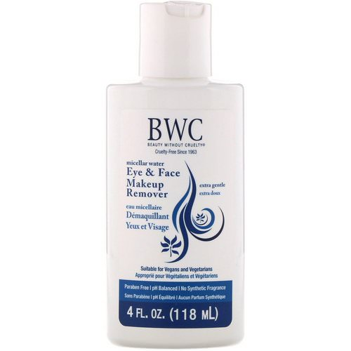Beauty Without Cruelty, Eye & Face Makeup Remover, Extra Gentle, 4 fl oz (118 ml) فوائد
