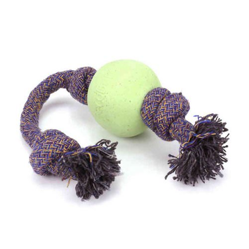 Beco Pets, Eco-Friendly Dog Ball On a Rope, Large, Green, 1 Rope فوائد