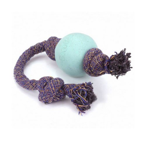 Beco Pets, Eco-Friendly Dog Ball On a Rope, Small, Blue, 1 Rope فوائد
