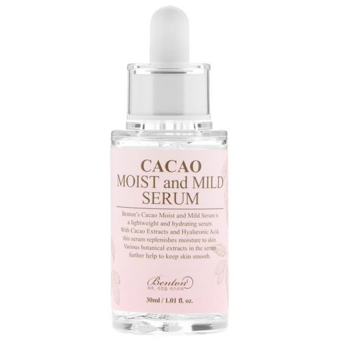 Benton, Cacao Moist and Mild Serum, 1.01 fl oz (30 ml) فوائد