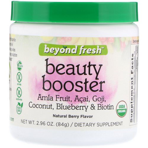 Beyond Fresh, Beauty Booster, Natural Berry Flavor, 2.96 oz (84 g) فوائد