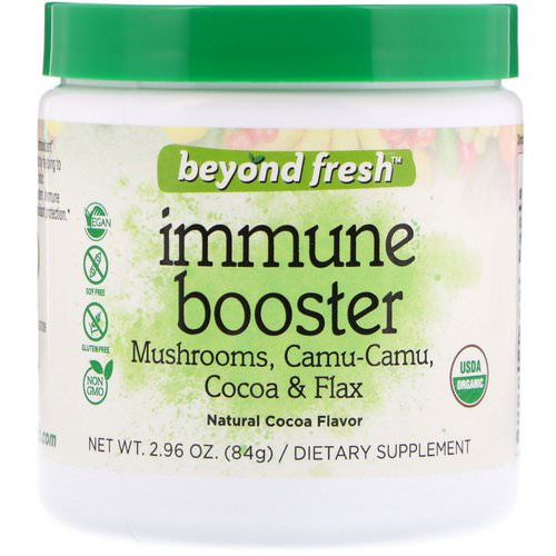 Beyond Fresh, Immunity Booster, Natural Cocoa Flavor, 2.96 oz (84 g) فوائد