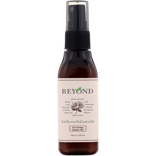 Beyond, Total Recovery Body Lotion Mist, 3.38 fl oz (100 ml) فوائد