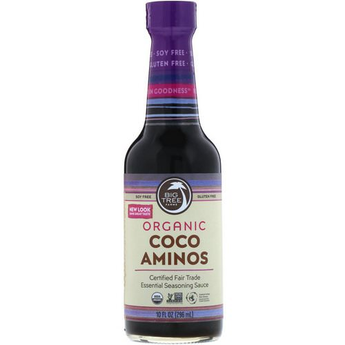 Big Tree Farms, Organic Coco Aminos, Essential Seasoning Sauce, 10 fl oz (296 ml) فوائد