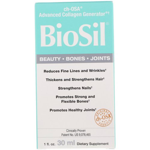 BioSil by Natural Factors, ch-OSA Advanced Collagen Generator, 1 fl oz (30 ml) فوائد