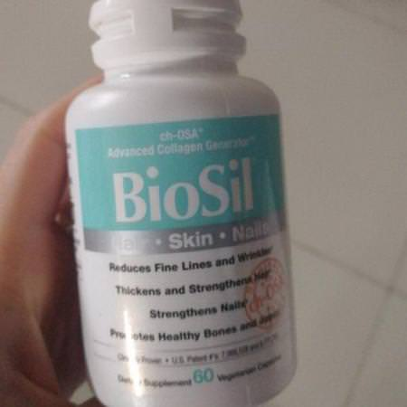 BioSil by Natural Factors, ch-OSA Advanced Collagen Generator, 60 Vegetarian Capsules
