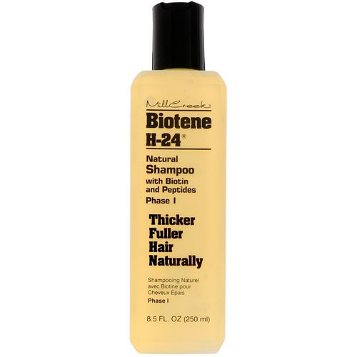 Biotene H-24, Natural Shampoo with Biotin and Peptides, Phase I, 8.5 fl oz (250 ml) فوائد