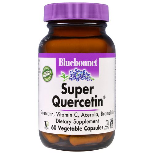 Bluebonnet Nutrition, Super Quercetin, 60 Veggie Caps فوائد