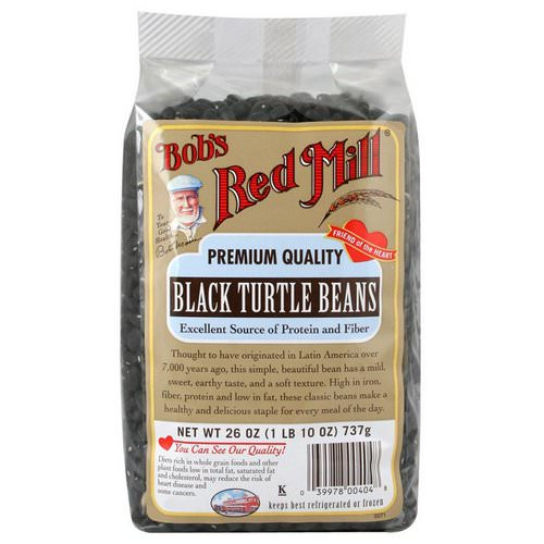 Bob's Red Mill, Black Turtle Beans, 1.6 lbs (737 g) فوائد