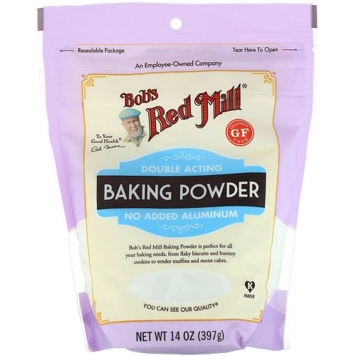 Bob's Red Mill, Double Acting Baking Powder, Gluten Free, 14 oz (397 g) فوائد