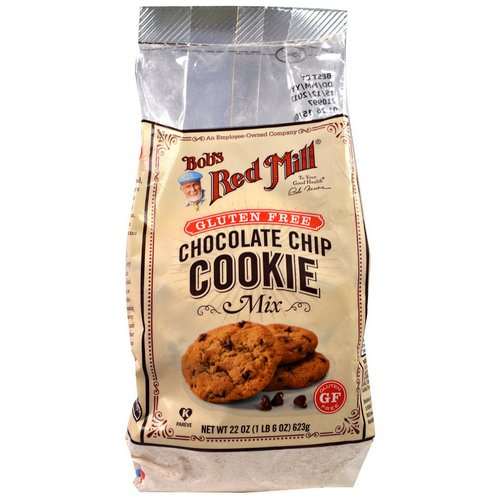 Bob's Red Mill, Gluten Free Chocolate Chip Cookie Mix, 22 oz (623 g) فوائد