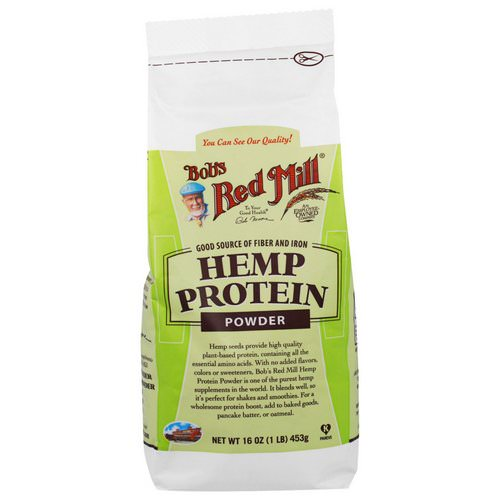Bob's Red Mill, Hemp Protein Powder, 16 oz (453 g) فوائد