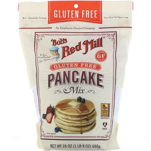 Bob's Red Mill, Pancake Mix, Gluten Free, 24 oz (680 g) فوائد