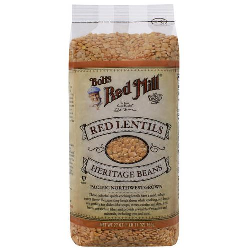 Bob's Red Mill, Red Lentils, 1.7 lbs (765 g) فوائد
