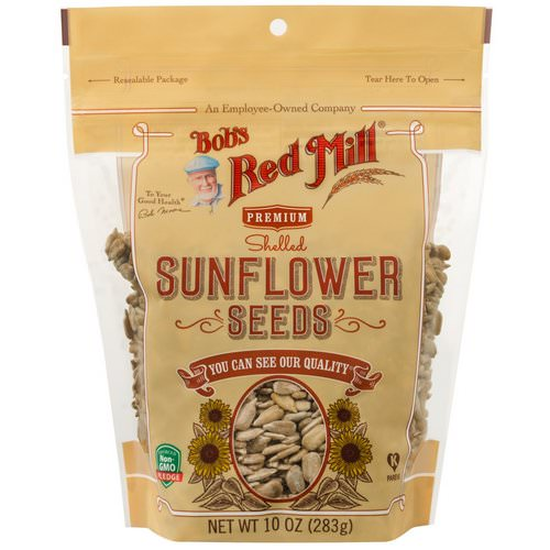 Bob's Red Mill, Shelled Sunflower Seeds, 10 oz (283 g) فوائد
