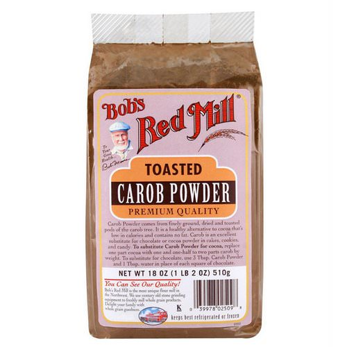 Bob's Red Mill, Toasted Carob Powder, 18 oz (510 g) فوائد