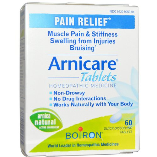Boiron, Arnicare, Pain Relief, 60 Quick-Dissolving Tablets فوائد