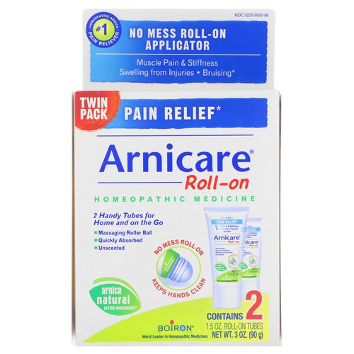 Boiron, Arnicare Roll-on, Pain Relief, 2 Tubes, 1.5 oz Each فوائد