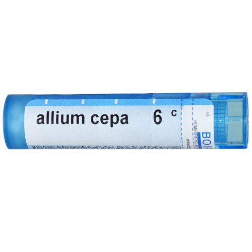 Boiron, Single Remedies, Allium Cepa, 6C, Approx 80 Pellets فوائد
