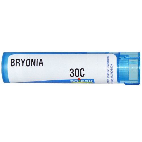Boiron, Single Remedies, Bryonia, 30C, Approx 80 Pellets فوائد