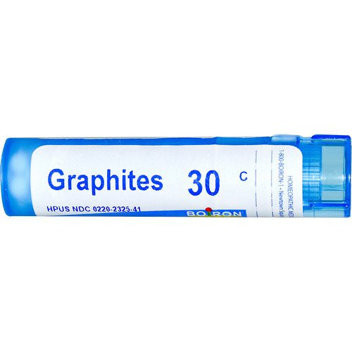 Boiron, Single Remedies, Graphites, 30C, 80 Pellets فوائد