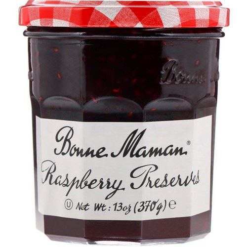 Bonne Maman, Raspberry Preserves, 13 oz (370 g) فوائد