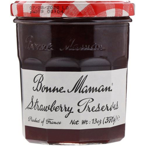 Bonne Maman, Strawberry Preserves, 13 oz (370 g) فوائد