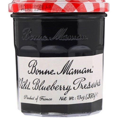 Bonne Maman, Wild Blueberry Preserves, 13 oz (370 g) فوائد