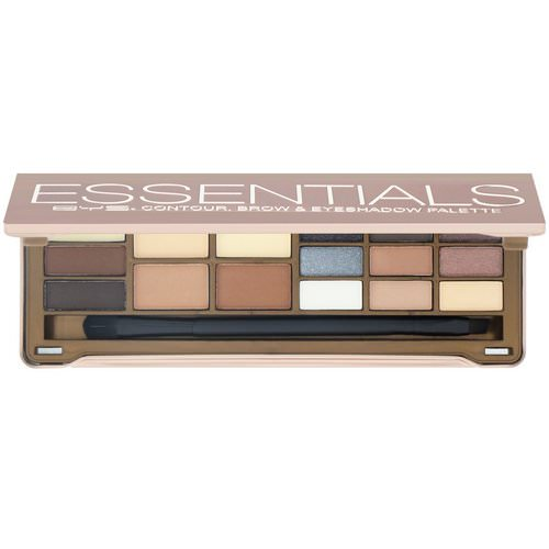 BYS, Essentials, Contour, Brow & Eyeshadow Palette, 15 g فوائد