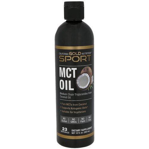 California Gold Nutrition, MCT Oil, 12 fl oz (355 ml) فوائد